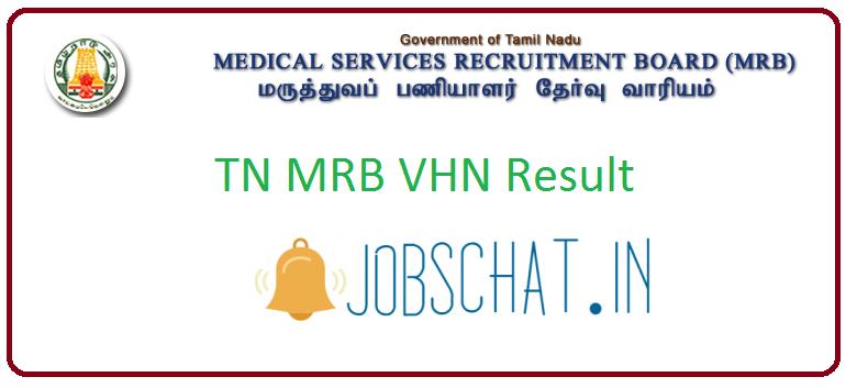 TN MRB VHN Result