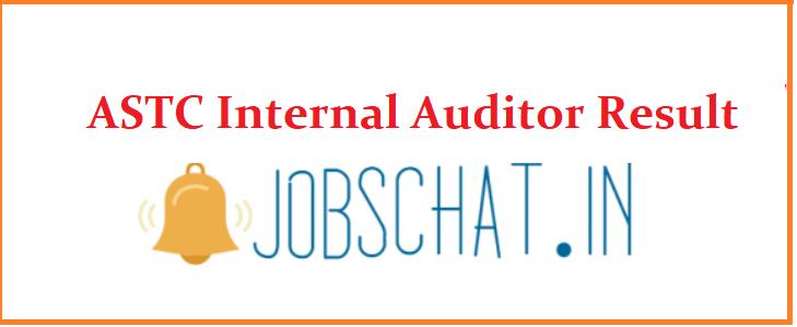 ASTC Internal Auditor Result