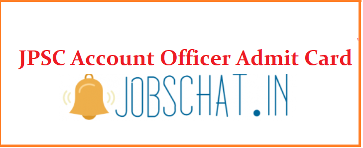 JPSC Account Officer Admit Card