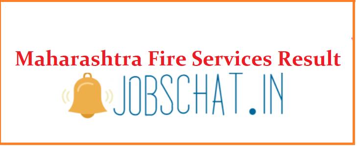 Maharashtra Fire Services Result