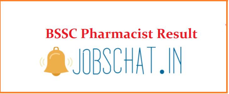BSSC Pharmacist Result