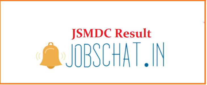 JSMDC Result