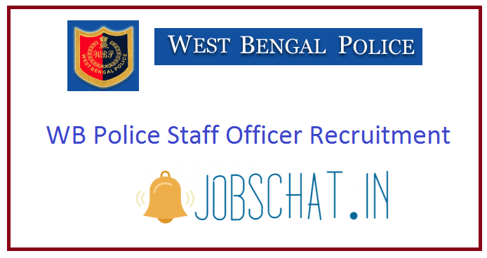 WB Police Staff Officer Recruitment