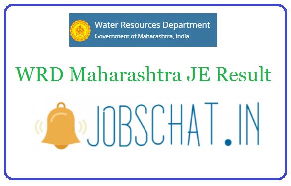 WRD Maharashtra JE Result