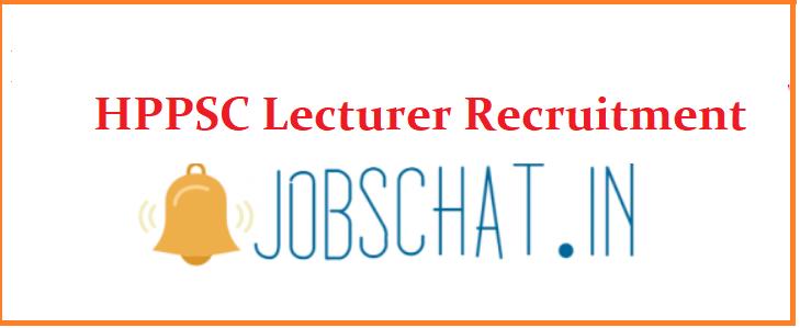 HPPSC Lecturer Recruitment