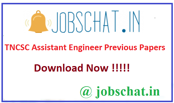 TNCSC Assistant Engineer Previous Papers
