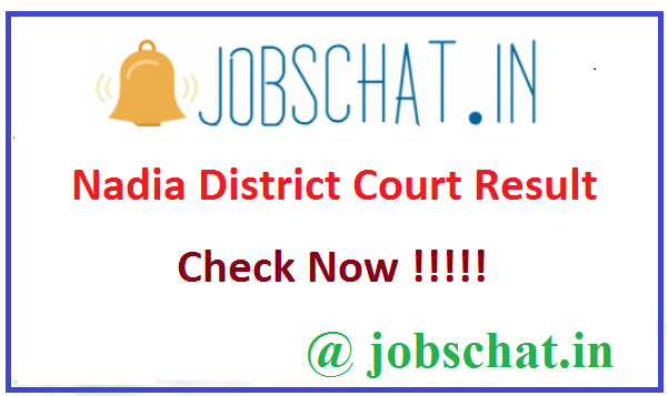 Nadia District Court Result