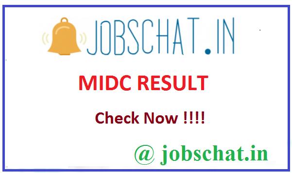 MIDC Result