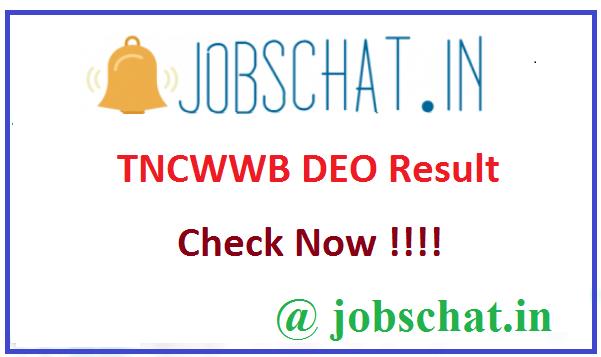 TNCWWB DEO Result
