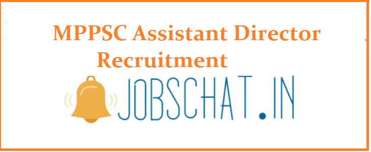 MPPSC Assistant Director Recruitment
