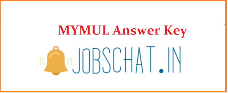 MYMUL Answer Key