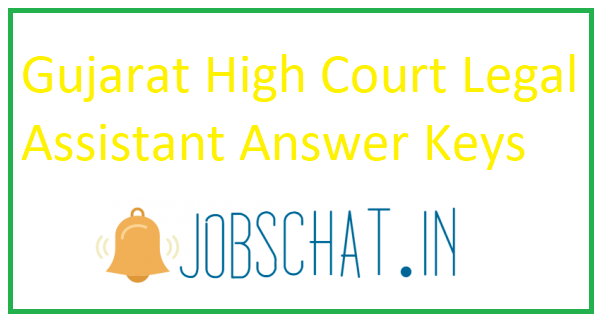 Gujarat High Court Legal Assistant Answer Key