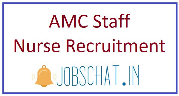 AMC Staff Nurse Recruitment