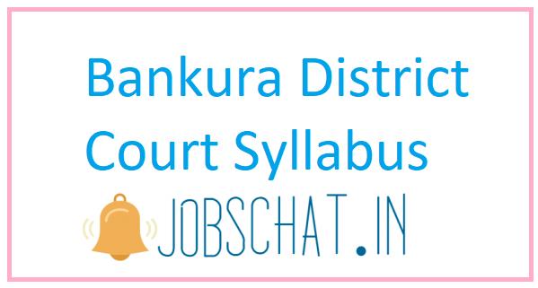Bankura District Court Syllabus