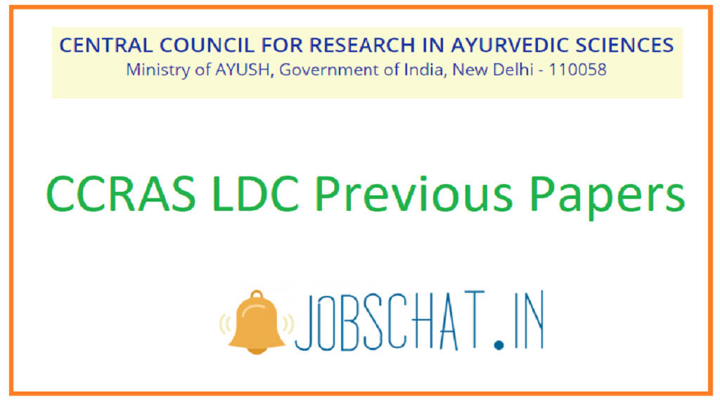 CCRAS LDC Previous Papers
