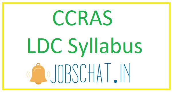 CCRAS LDC Syllabus