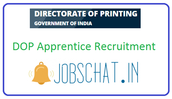 DOP Apprentice Recruitment