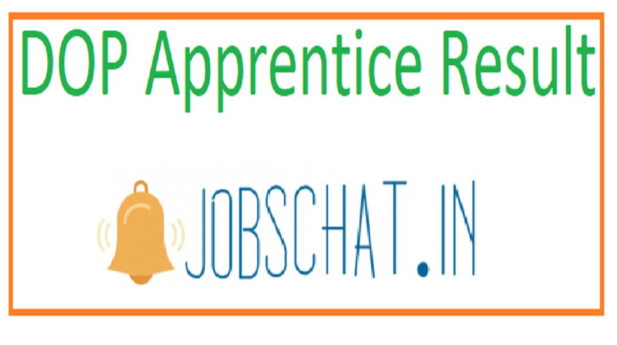DOP Apprentice Result