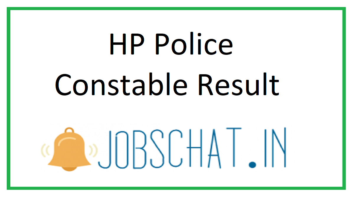 HP Police Constable Result