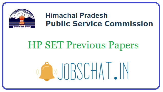 HP SET Previous Papers