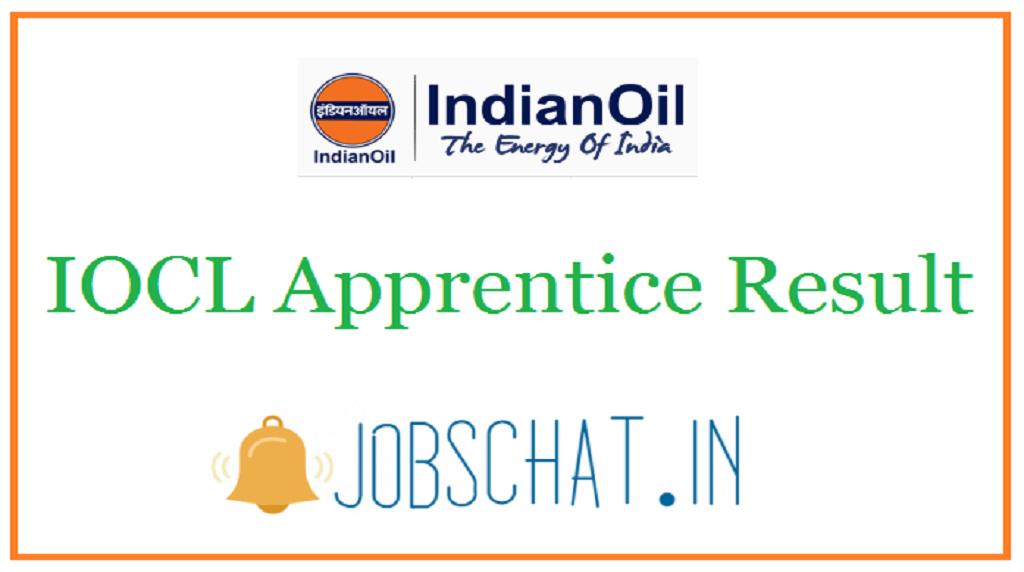 IOCL Apprentice Result