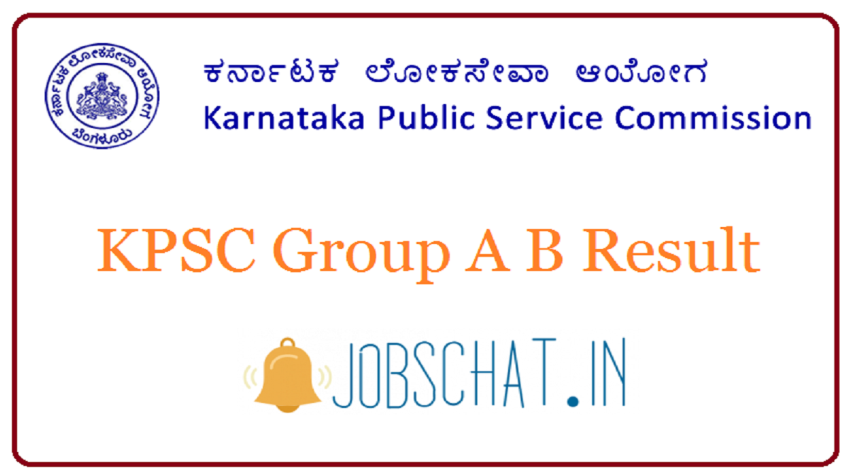 KPSC Group A B Result