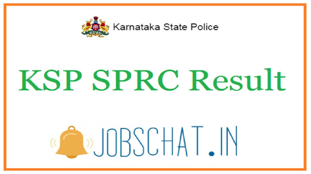 KSP SRPC Result