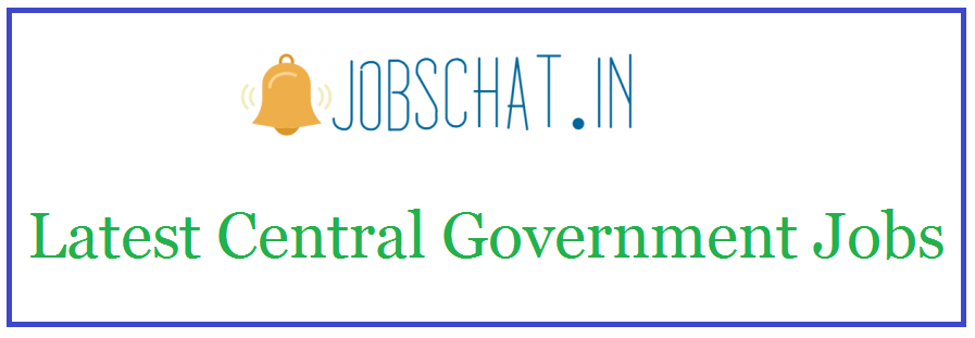 Latest Central Government Jobs