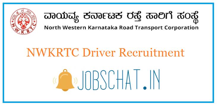 NWKRTC Driver Recruitment