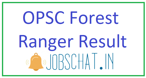 OPSC Forest Ranger Result