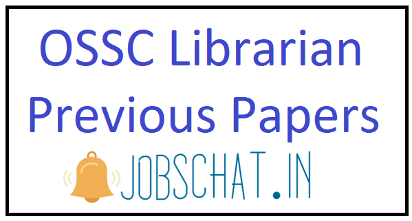 OSSC Librarian Previous Papers
