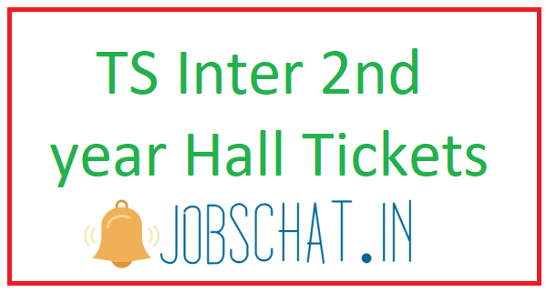 TS Inter 2nd year Hall Tickets