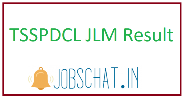 TSSPDCL JLM Result