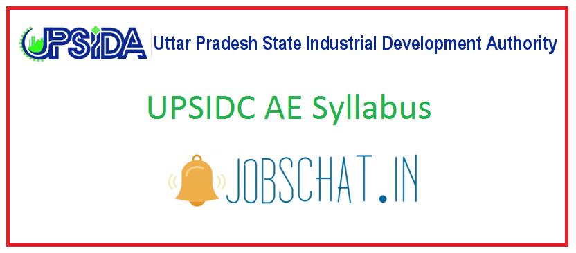 UPSIDC AE Syllabus
