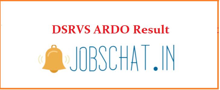 DSRVS ARDO Result
