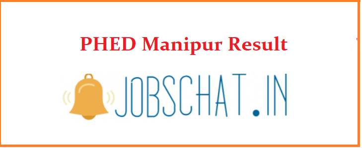 PHED Manipur Result