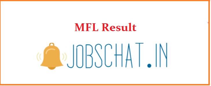 MFL Result
