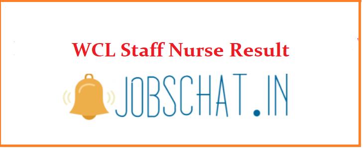 WCL Staff Nurse Result