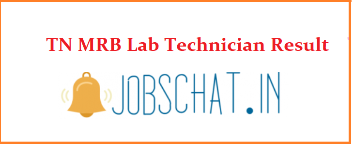TN MRB Lab Technician Result