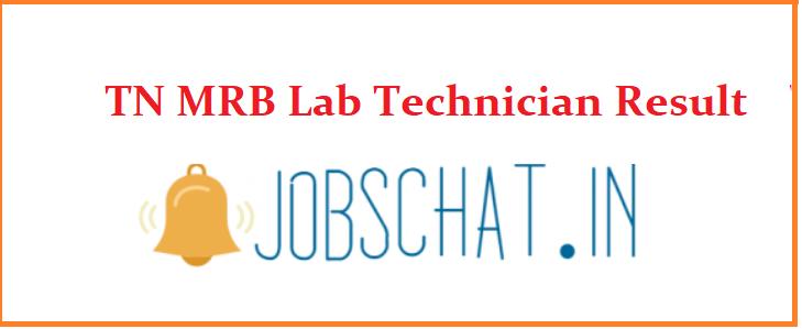 TN MRB Lab Technician Result