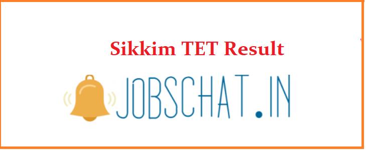 Sikkim TET Result
