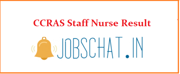 CCRAS Staff Nurse Result