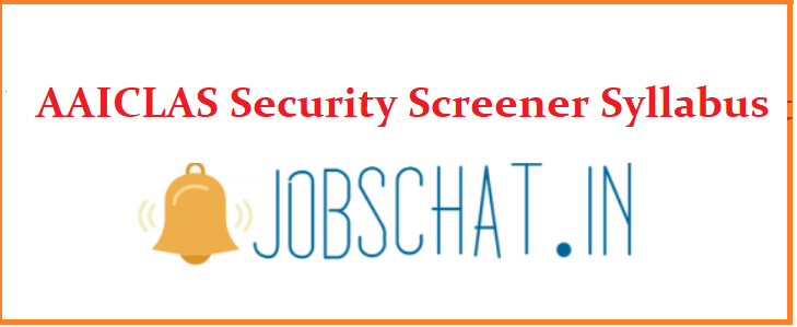 AAICLAS Security Screener Syllabus