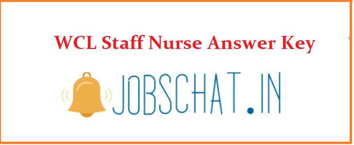 WCL Staff Nurse Answer Key