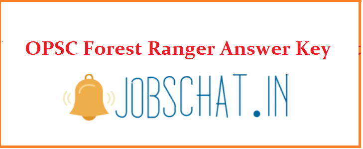 OPSC Forest Ranger Answer Key