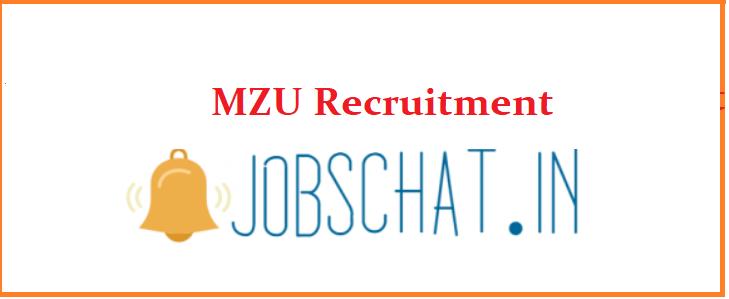 MZU Recruitment