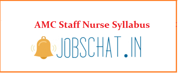 AMC Staff Nurse Syllabus