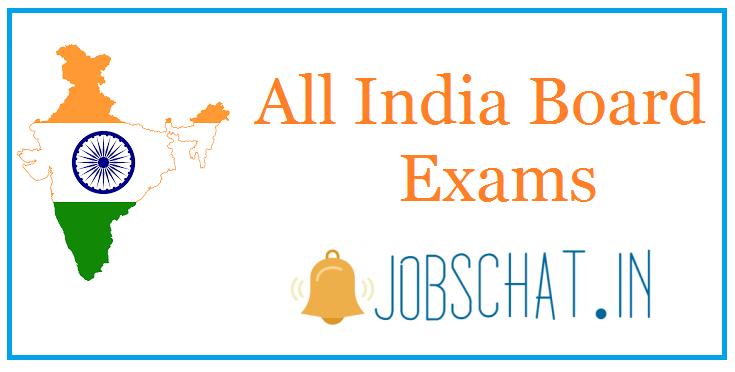 All India Board Exams