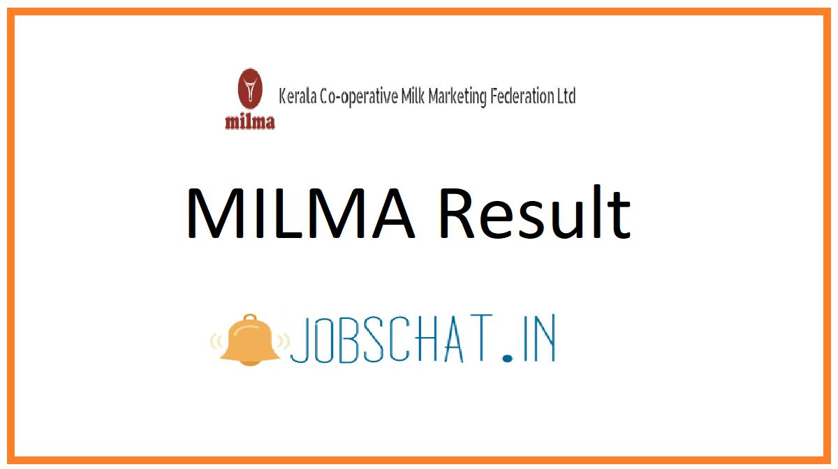 MILMA Result