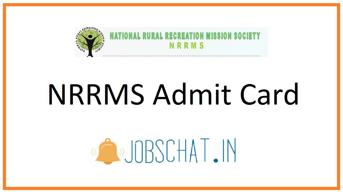NRRMS Admit Card